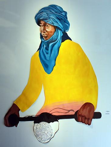 """Malian Rider #1"""