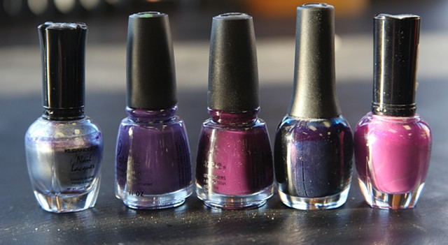Naughty Nilz will be doing nail art inspired by the color pellette of Wilson and Schlagbaum