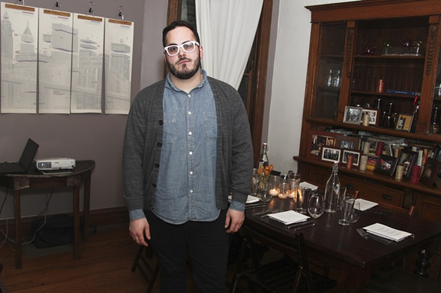 Michael Garcia at the Sunday Dinner Club talk