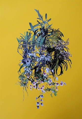 Orchid Stack (Yellow), by Stephen Eichhorn