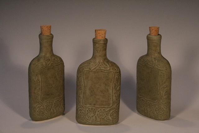 porcelain flask prohibition whisky absinthe steam punk