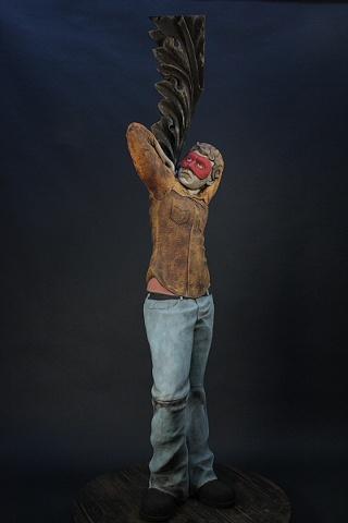 statue, ceramic, sculpture, life-sized figure