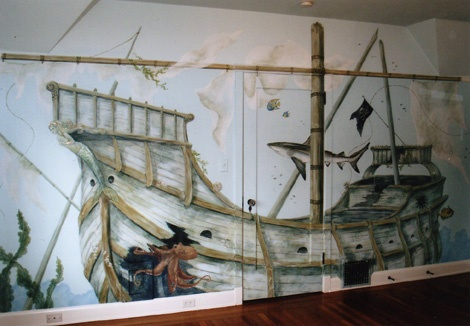 Sunken Pirate Ship