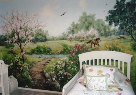 Country Meadow Bedroom
