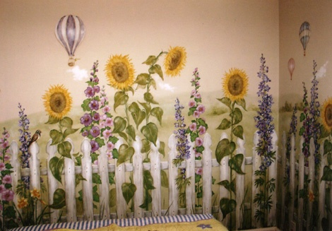 Country Garden Bedroom