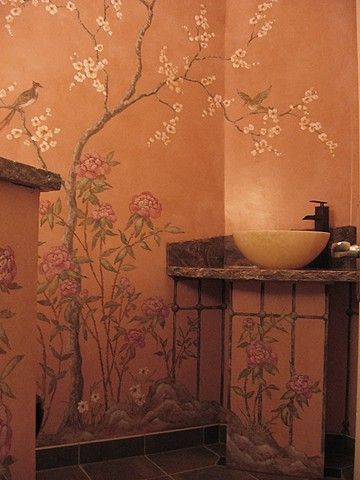 Garden Powder Room