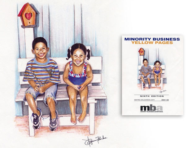 Minority Business Pages Ad