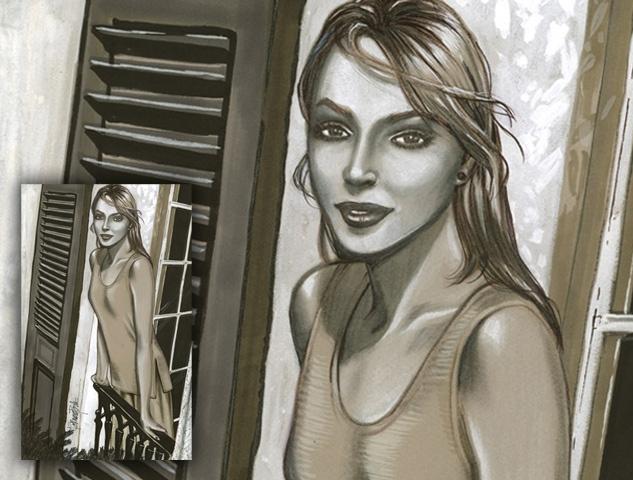Crown Heights Window Girl