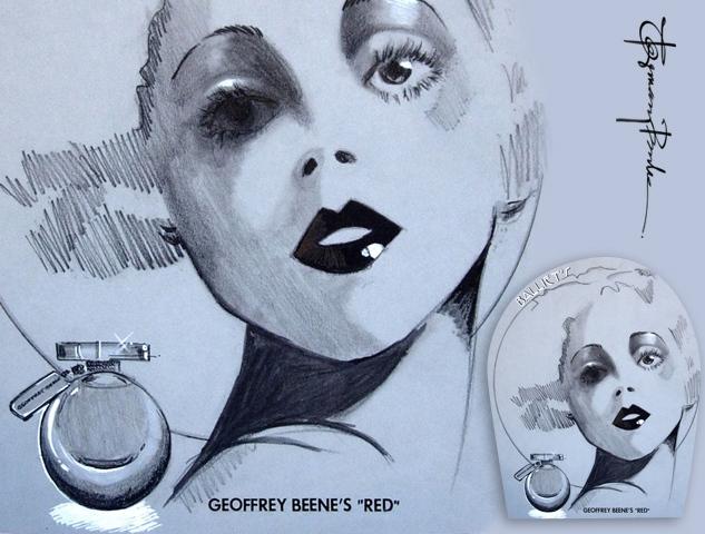 Geoffrey Beene Fragrance Ad