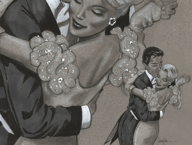 The Waltz - Magazine Illustration
