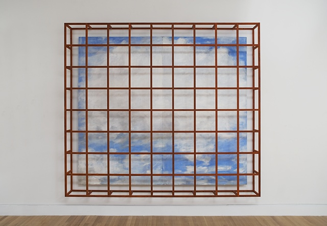 Caged Cloud Painting