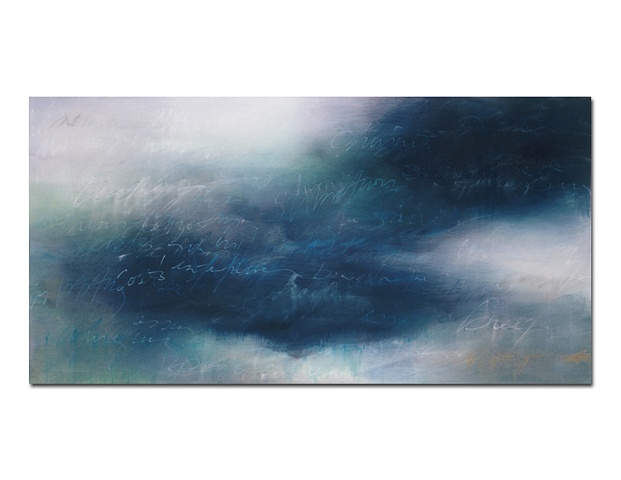 """Untitled (Dream Tide Series)"" 24x54"