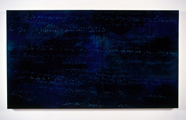 """Untitled (Dream Tide Series)"" 48x96"