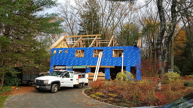North Elevation with Trusses