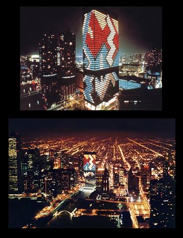 IBM 75th Anniversary Light Mosaic