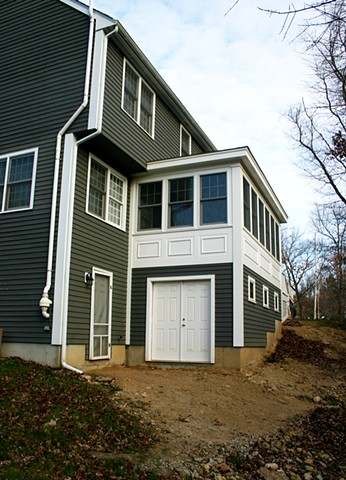 Boyle Residence - Three Season Porch and Storage Area