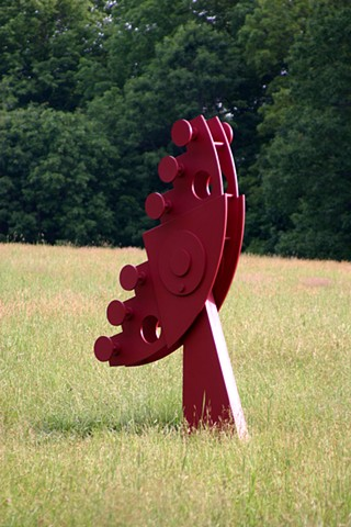Receptor is a sculpture serving as tribute and omen to technology and the information age.