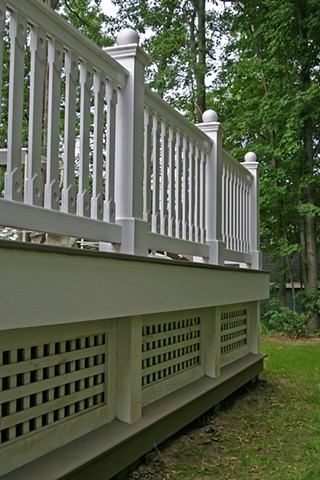 Jacqz Residence - Back Porch