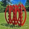 Pods  Outdoor Sculpture at Maudslay 2002 Exhibition Theme: Balance  View From North