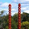 External Link  Outdoor Sculpture at Maudslay 2012 Exhibit Theme: Inside / Out  View From Southeast