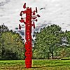 Signpost  Outdoor Sculpture at Maudslay 2011 Exhibit Theme: Play  View From Northeast
