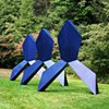 Synthetic Bond  Outdoor Sculpture at Maudslay 2010 Exhibit Theme: Trace  View From Southeast