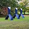 Synthetic Bond  Outdoor Sculpture at Maudslay 2010 Exhibit Theme: Trace  View From Southwest Field