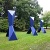 Synthetic Bond  Outdoor Sculpture at Maudslay 2010 Exhibit Theme: Trace  View From Southwest
