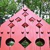 "Portal  Outdoor Sculpture at Maudslay 2009 Exhibition Theme: Found  Wood 1'-2"" x 6'-10"" x 11'"