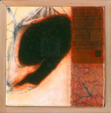 That Bears No Fruit- encaustic- Carrie Ann Plank