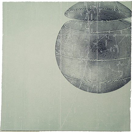 """Above and Below: Monoprint Series #5"""