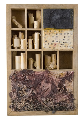 small box- mixed media- Carrie Ann Plank