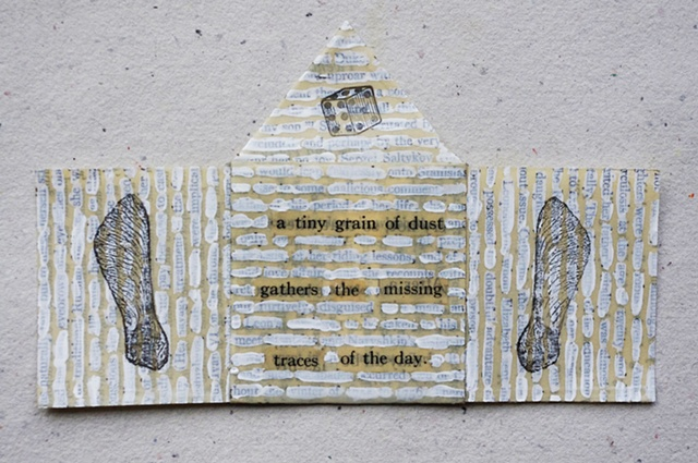 Mixed Media with Found Text
