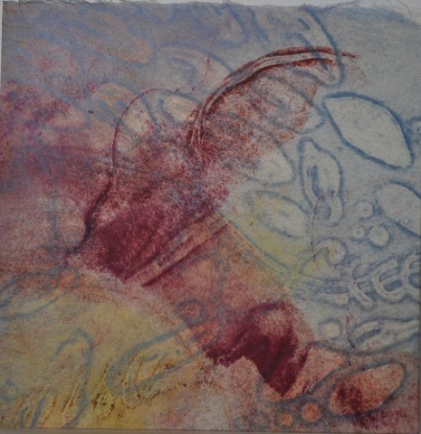 collagraph, monoprint