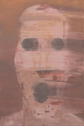 "Title: Bomb Blast Bystander 2  Medium: Acrylic On Canvas  Dimensions: 72"" x 48""  Year: 2011"