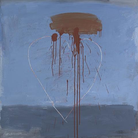 "Title: Siren's Song 2  Medium: Acrylic on Canvas  Dimensions: 48"" x 48""  Year: 2010"