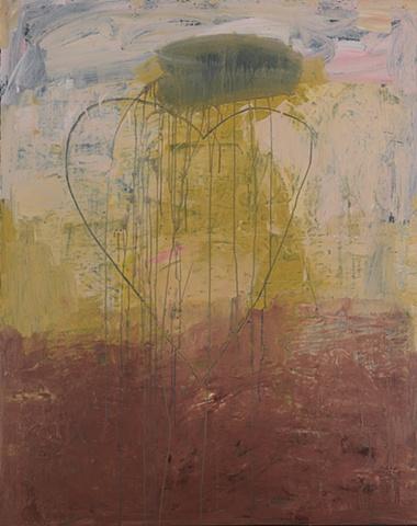 "Title: Siren's Song 1  Medium: Acrylic On Canvas  Size: 60"" x 48""  Year: 2010"