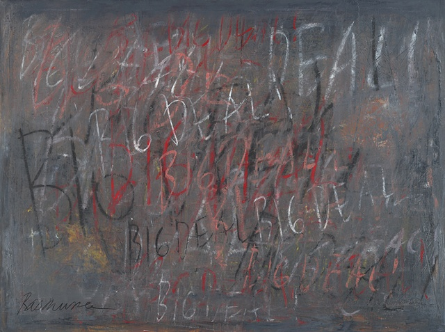 "Title: American(Mean)ism-Big Deal!  Medium: Oil And Oil Stick On Canvas  Size: 48"" x 36""  Year: 2007"
