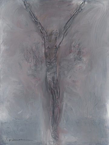 "Title: Tree Of Life?  Medium: Oil And Graphite on Canvas  Dimensions: 48"" x 36""  Year: 2007"