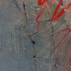 """Title: Scratched-Out Bauhaus Sketch  Medium: Oil And Oil Stick On Canvas  Size: 48"""" x 36""""  Year: 2006"""