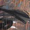 "Title: Libertad A Los Preso Politico    Medium: Acrylic, Spray Paint And Colored Pencil On Canvas  Dimensions: 60"" x 48""  Year: 2009"