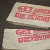 Heroin Stamp Bag: Get High or Die