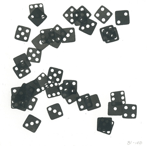 twenty rolls of the dice (the fifth twenty rolls)