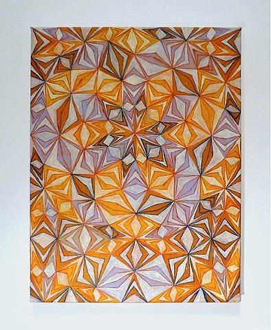 "Devin Powers, Mathematics, 2010 oil on linen, 16x12"""