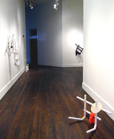 Installation View, Cassie Raihl: Tight Reps