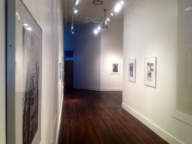 Installation view of Andrew Graham: Visitor