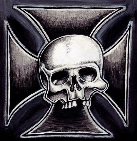 Skull and Cross