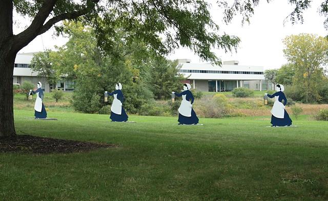 Tompkins County Civil War Nurses Memorial at Tompkins Cortland Community College, Dryden, NY