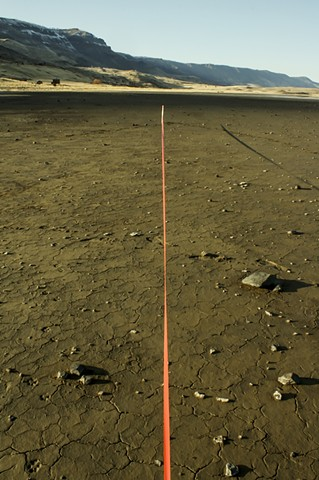 Measuring the Landscape: Straight Line Measure