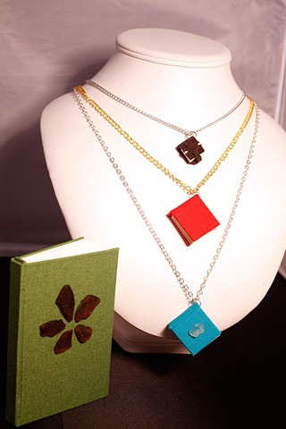 Necklaces and Sketchbooks